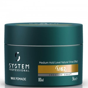 SYSTEM PROFESSIONAL MAN Wax Pomade 80 ml - Pomada do Włosów.