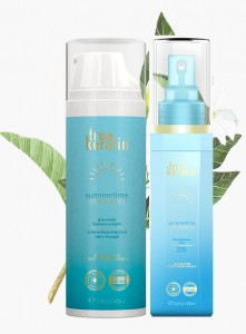 Zestaw True Keratin Summertime - Krem,Spray.